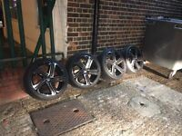 Vw Golf MK6 Alloys With Brand New Tyres