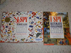 I Spy board game and book