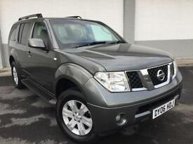 2006 06 Nissan Pathfinder 2.5dCi 174 auto SVE FULL LEATHER 4X4