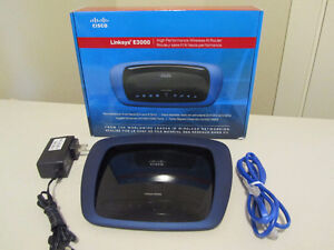 CISCO Linksys E3000 DUAL BAND N ROUTER