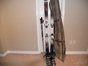 COMPLETE SKI PACKAGE SIZE mens 9