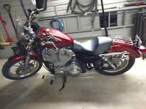 Harley sportster XL883L 2009