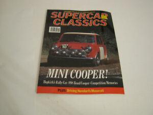 Supercar Classics, Nov. 1990:  Mini Cooper, Maserati, Bizzarrini