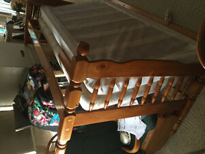 kids bunk beds with mattress
