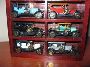 Miniature Reader's Digest antique cars