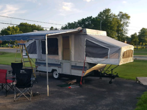 1983 8ft viking tent trailer