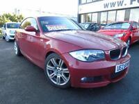2008 BMW 120 2.0TD d M Sport - Red - Platinum Warranty!