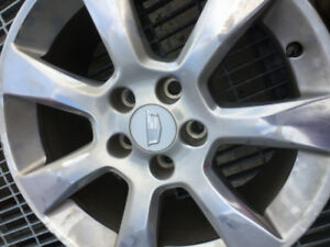 Winter tires and  alloy hubs-Used-qty 4