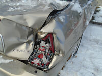 Do you have a damaged vehicle and no coverage for sale?