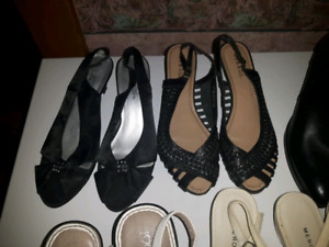 Womens shoes sizes 8-9.