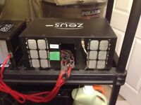 Scrypt mining equipment zeus with 1300 watt psu and accesories
