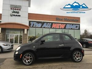 2015 Fiat 500 Sport  ACCIDENT FREE, BLUETOOTH, LEATHER