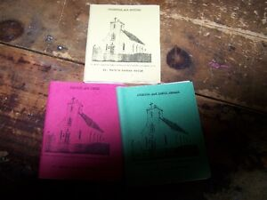 3 Paper Back Cook Books St Mark's Ladies Guild Martin's Point NS