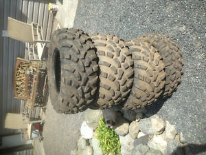 ATV tires- Full set 25-10-12, 25-11-12