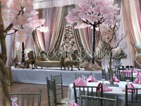 REAL WEDDING DECORATIONS BY THE WEDDING BOUTIQUE