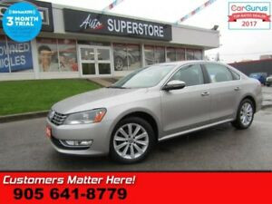 2012 Volkswagen Passat 2.5 Highline  LEATHER ROOF POWER SEATS HE