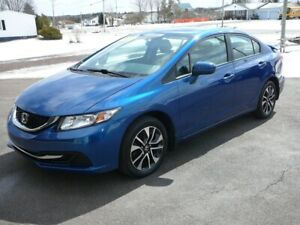 2015 Honda Civic EX.  REDUCED TO $11,500
