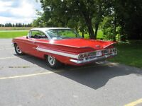 1960 Chevrolet Parts only + many diecast cars!