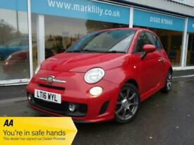 image for 2016 Abarth 595 1.4 T-Jet 140 3dr Turbo officina Red stunning 39k  HATCHBACK Pet