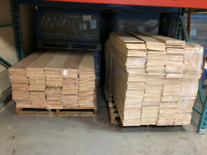 "OAK STAIR RISERS WAREHOUSE CLEARANCE SALE! Upto 48"" width $3.99"