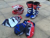 Motocross gear the whole lot (most new)