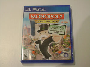 PS4 Monopoly Family Fun Pack Game Used