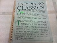 Library of Easy Piano Classics Music Book