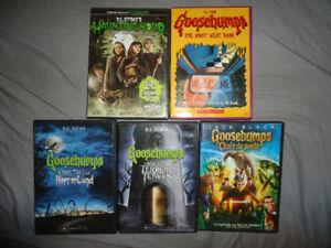 RL STINE MOVIES& NEW GOOSEBUMPS DVD