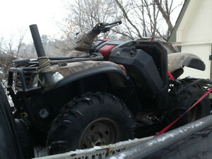 2002 Kawasaki Brute Force 650 COMPLETE PART OUT