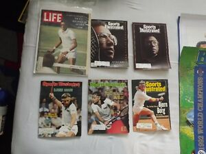 3 BJORN BORG ISSUES OF SPORTS ILLUSTRATED MAGAZINE