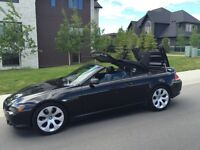 2005 BMW 645CI CONVERTIBLE LOADED NAV NEW MB SAFETY