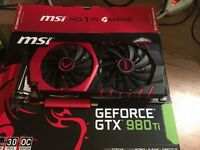 Msi 980ti gaming gtx nvidia gpu 6gb