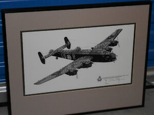 HAND DRAWN AVIATION PRINT