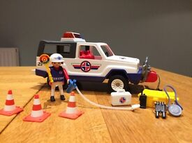 Vintage Playmobil Rescue Truck 3070