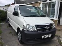 Toyota Hiace diesel van great to drive only 2 owners