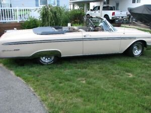 1962 Ford Galexie XL Convertible, Engine 352 -2 Br. automatic