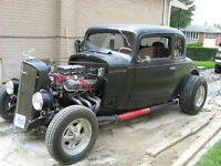 1934 chevrolet 5 window coupe  rat rod  hot rod  34 chevy