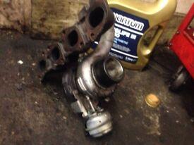 Turbo for Vauxhall 1.9 Diesel engines 16 valve engine