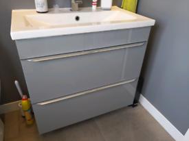 New 'GoodHome Imadra' bathroom sink unit w/ soft close drawers