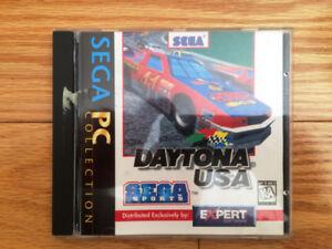 DAYTONA USA FOR A PC CD GAME DISC – SEGA PC COLLECTION - $3 OBO
