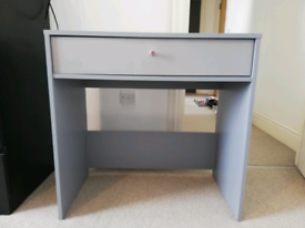 Small grey Argos desk