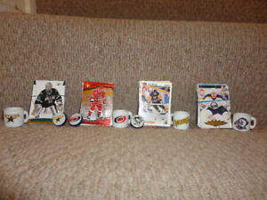 team hockey cards and other items