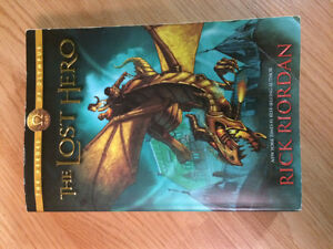 Rick Riordan, The Lost Hero, The Heros of Olympus