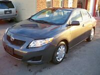 2010 Toyota Corolla Sedan---Only  33,000kms