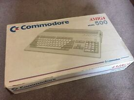 Commodore Amiga 500 A500 Computer 1991 see pictures