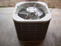 Air conditioning unit with coil and breaker