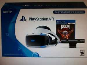 PlayStation ps4 VR  bundle with Move Controllers