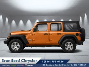 2018 Jeep Wrangler Unlimited Sahara  - Navigation - $378.21 B/W