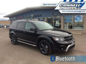 2018 Dodge Journey Crossroad  - Leather Seats - $217.24 B/W