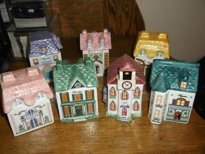 Collectible Cottage Spice Jars